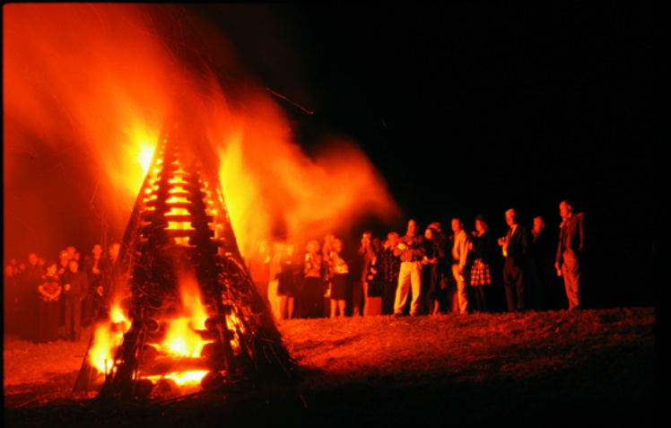 Bonfire on the Levee, Photo courtesy of New Orleans CVB