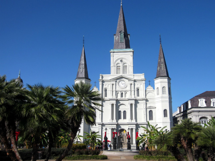 St. Louis Cathedral, Photo by Terri Marshall, Globetrotting Traveling Grandmom