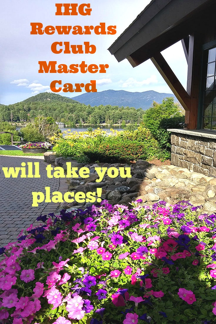 Use your IHG Rewards Club MasterCard anniversary nigh at Crowne Plaza Resort and Gold Club Lake Placid, NY - photo by Yvonne Jasinski