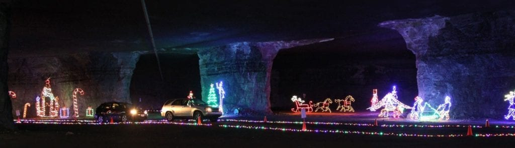 Lights Under Louisville. Photo Courtesy: Louisville Mega Cavern