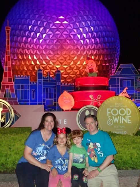 Entrance to Epcot - Heather Lee - 7 Continents TravelingMom