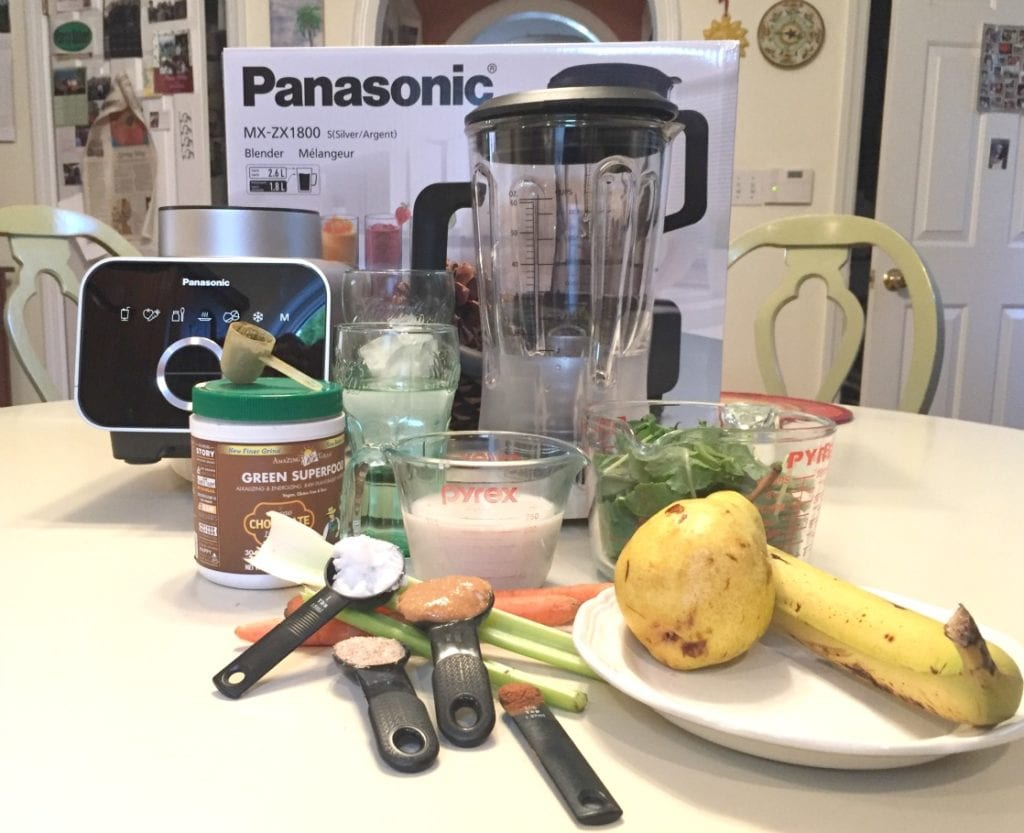 Travel Hangover Cure Kale Smoothie
