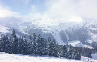 From the top of Lift 1 ... gorgeous!  Photo Credit: Kady Kellogg