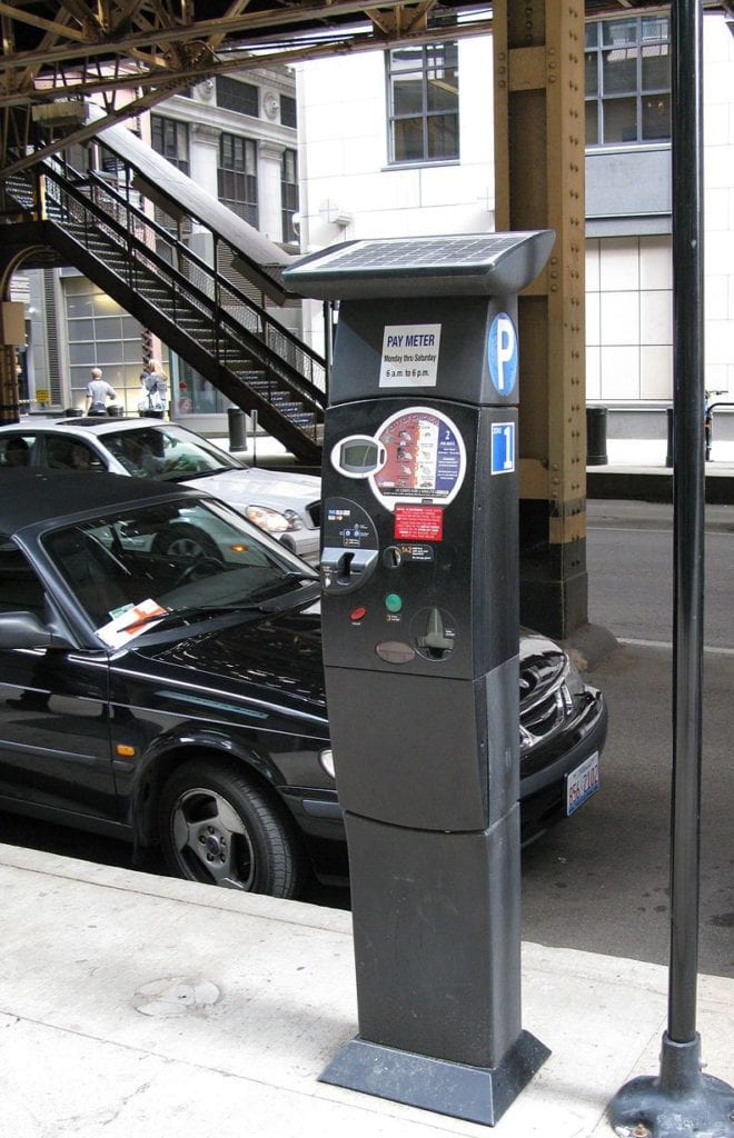 Don't risk a ticket for an expired parking meter in Chicago.