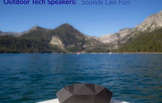 Outdoor Tech's Big Turtle Shell Wireless Speaker        photo courtesy: Outdoor Tech