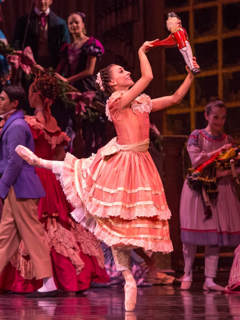 "Photo courtesy of Cheryl Mann The Joffrey Ballet's ""The Nutcracker"" is a Chicago tradition."