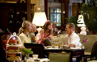 In their atrium, the Brown Palace Hotel & Spa serves Traditional Afternoon Tea, a treat for a multigenerational girls vacation.