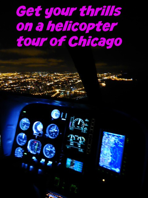 Things to do in Chicago: Helicopter Tour. Photo by Cindy Richards