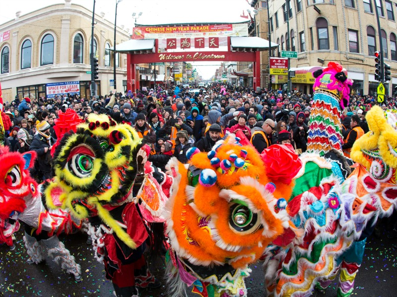 Chicago in Winter Chinese New Year Parade-TMOM
