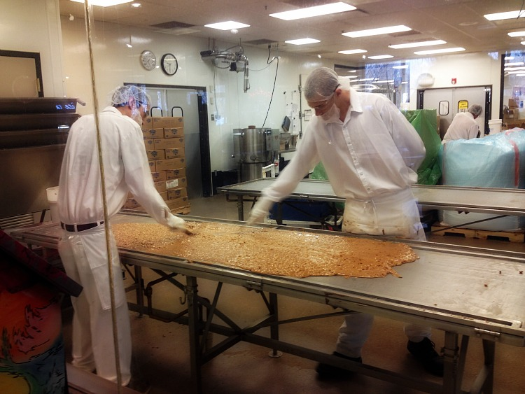Enstrom Candy Makers at Work