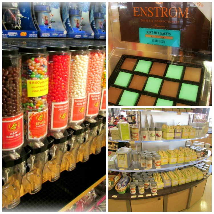 Enstrom Candy and Tea offerings
