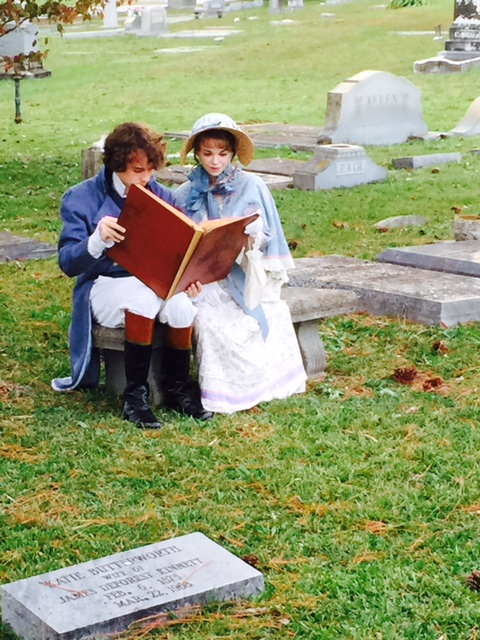 Cemetery visits can give new life to community history. Photo by Christine Tibbetts, Blended Family Traveling Mom.