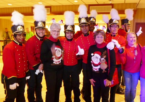The bellmen at Galt House Hotel in Louisville spend 2 months learning the moves for their nightly 5pm performance.
