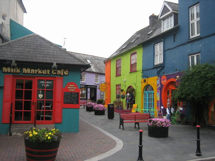 Colorful Kinsale, Photo by Terri Marshall, Globetrotting Traveling Grandmom