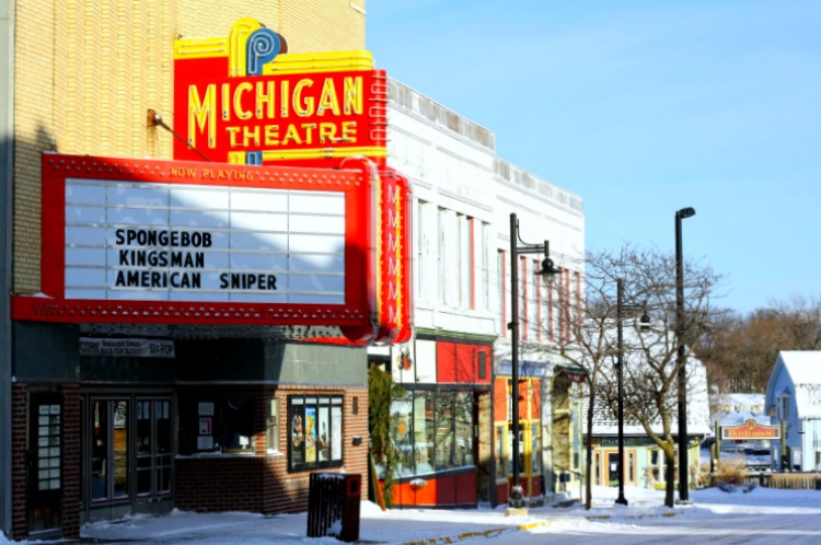The Michigan Theatre - South Haven. Photo by Mary Moore/ Retro TravelingMom