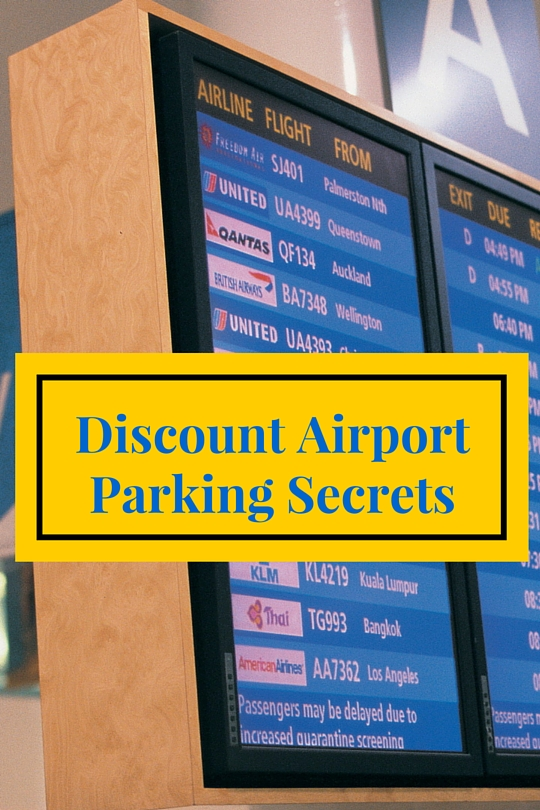 Where to find deals on parking near the airport, even in major cities where the price of a parking space can be more than the cost of the plane ticket.