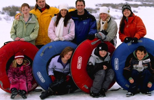 Tubing at Snow Mountain Ranch. Photo credit: YMCA of the Rockies.