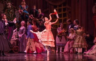 "Chicago's Joffrey Ballet perform's its final season of this classic ""Nutcracker"" photo courtesy: Cheryl Mann"
