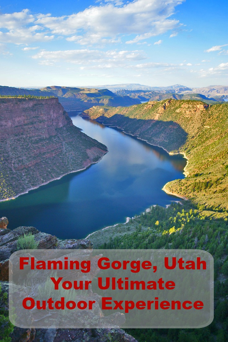 Flaming Gorge NRA, Red Canyon - photo by Yvonne Jasinski Credit Card Traveling Mom