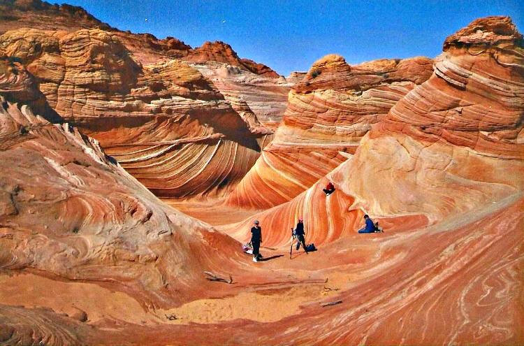 How to Hike The Wave in Coyote Buttes, Arizona.