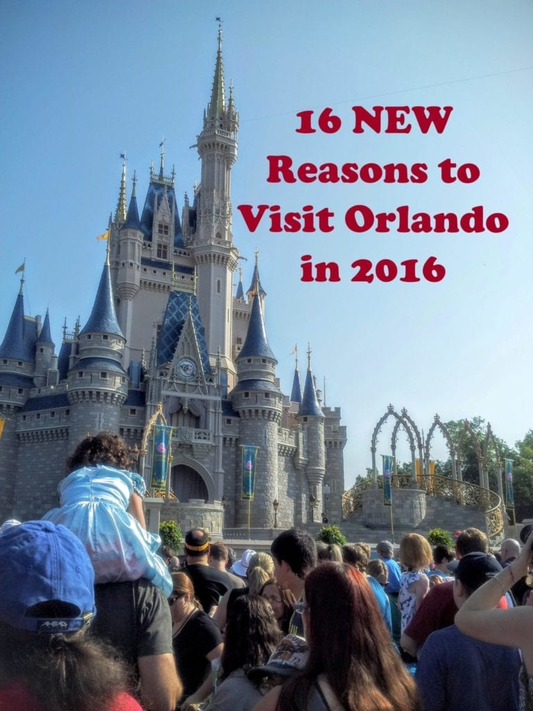 16 new reasons to visit Orlando in 2016