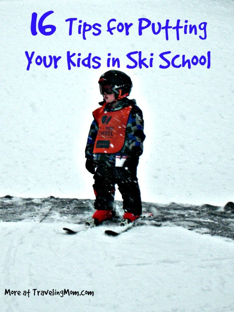16 tips for putting your kids in Ski School