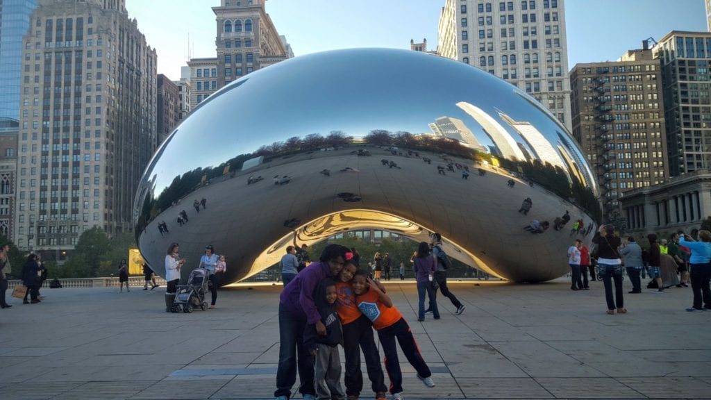 "The Embassy Suites Chicago is only steps from Cloud Gate (otherwise known as the ""Bean"")."