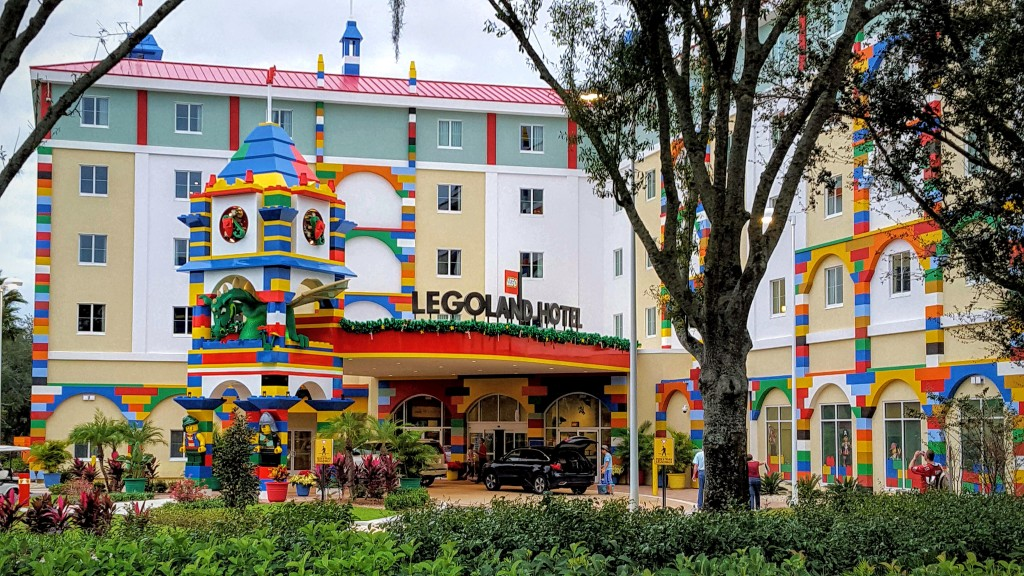 One of the most fun LEGOLAND Florida money saving secrets is to stay onsite at the LEGOLAND HOTEL.