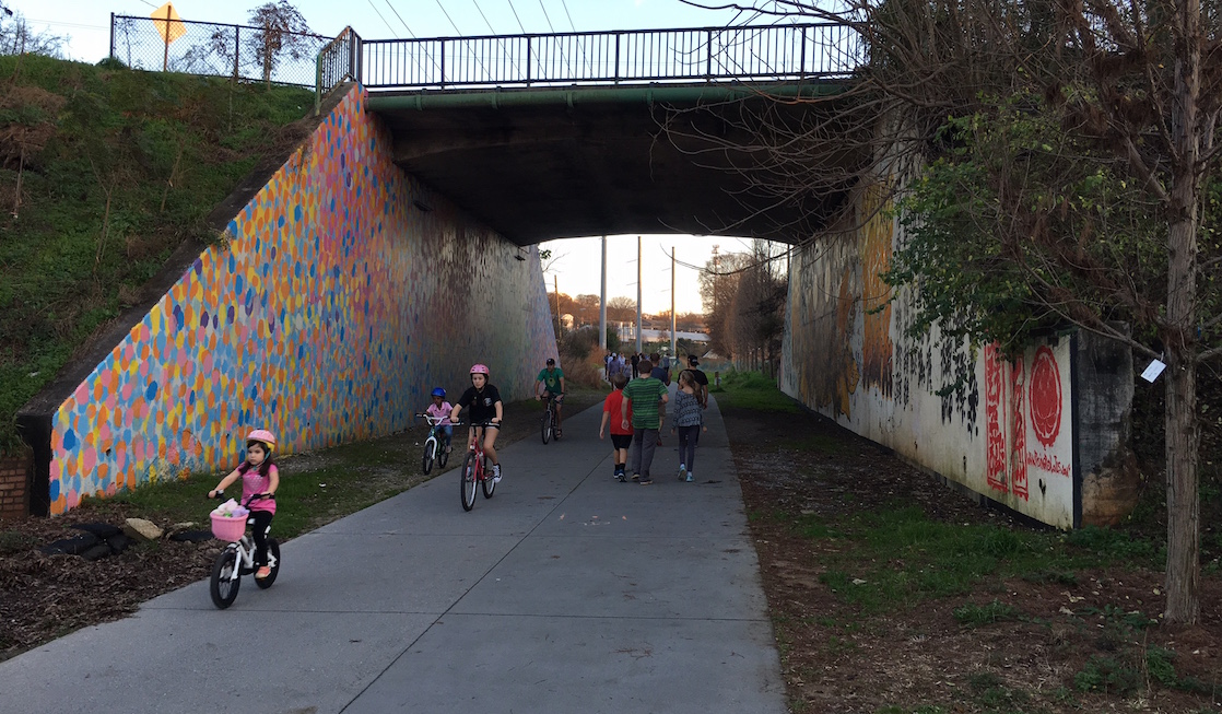 Rail to Trail, City Walks, City Trails, Atlanta BeltLine