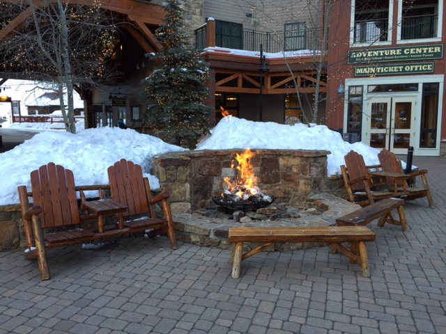 Crested Butte Central Fireplace