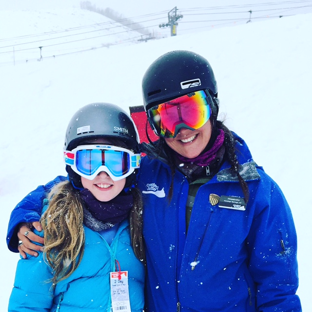 Crested Butte ski school private instructor