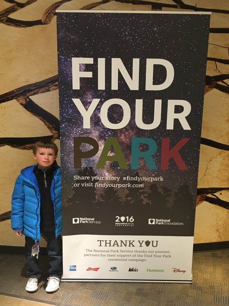 For 2016, the National Park Service celebrates its centennial with a campaign urging kids to explore parks across the U.S. Photo by Catherine Parker, National Parks TravelingMom