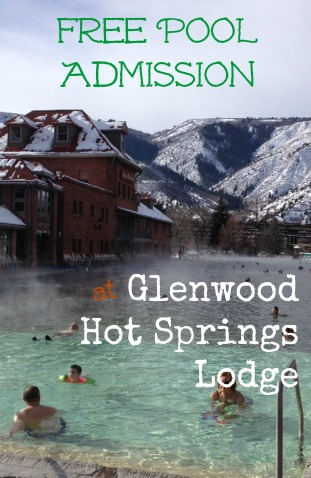 Free Pool Admission at Glenwood Hot Springs Lodge