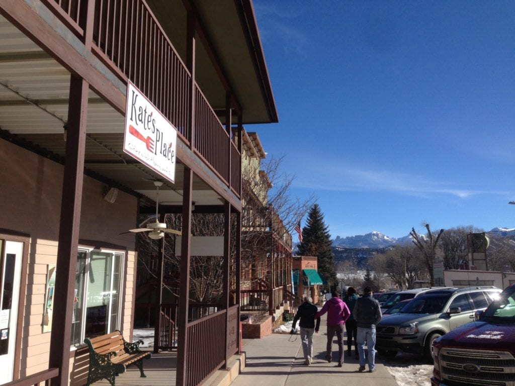 Kates Place Breakfast hot spot in Ridgway, Colorado