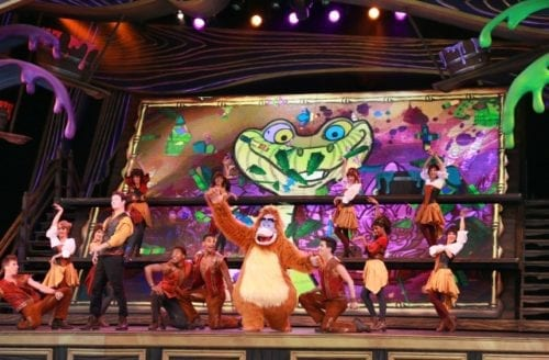 Mickey and the Magical Map live stage show at the Fantasyland Theatre. Photo credit: Paul Hiffmeyer/Disneyland Resort.