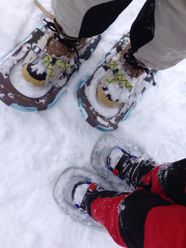 Reasons Your Family Will Love Snowshoeing mom and child