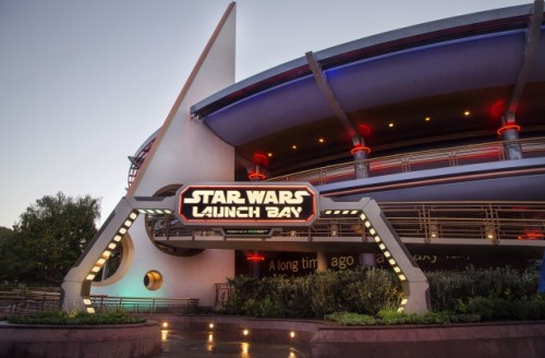 Star Wars Launch Bay in the old Innoventions Building. Photo credit: Paul Hiffmeyer/Disneyland Resort.