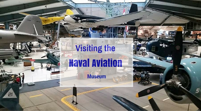 Inside the Naval Aviation Museum. Photo Courtesy: Allison Taylor/ Research TravelingMom