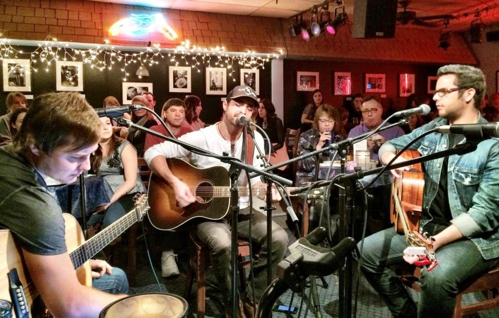 TIP: Songwriters in the round at the BlueBird Cafe — great music, awesome stories, lots of laughs in an intimate setting.
