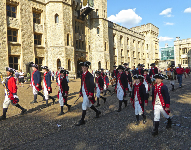 Waterloo Barracks, permanent home of the Crown Jewels. Photo: Angela Tiffin, History Buff Traveling Mom