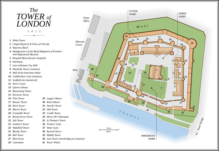 """Tower of London EN"" by Thomas Römer. Licensed under CC BY-SA 3.0"