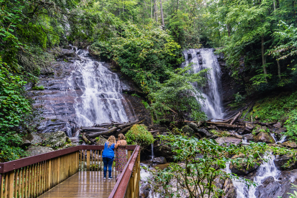 Anna Ruby Falls in Georgia