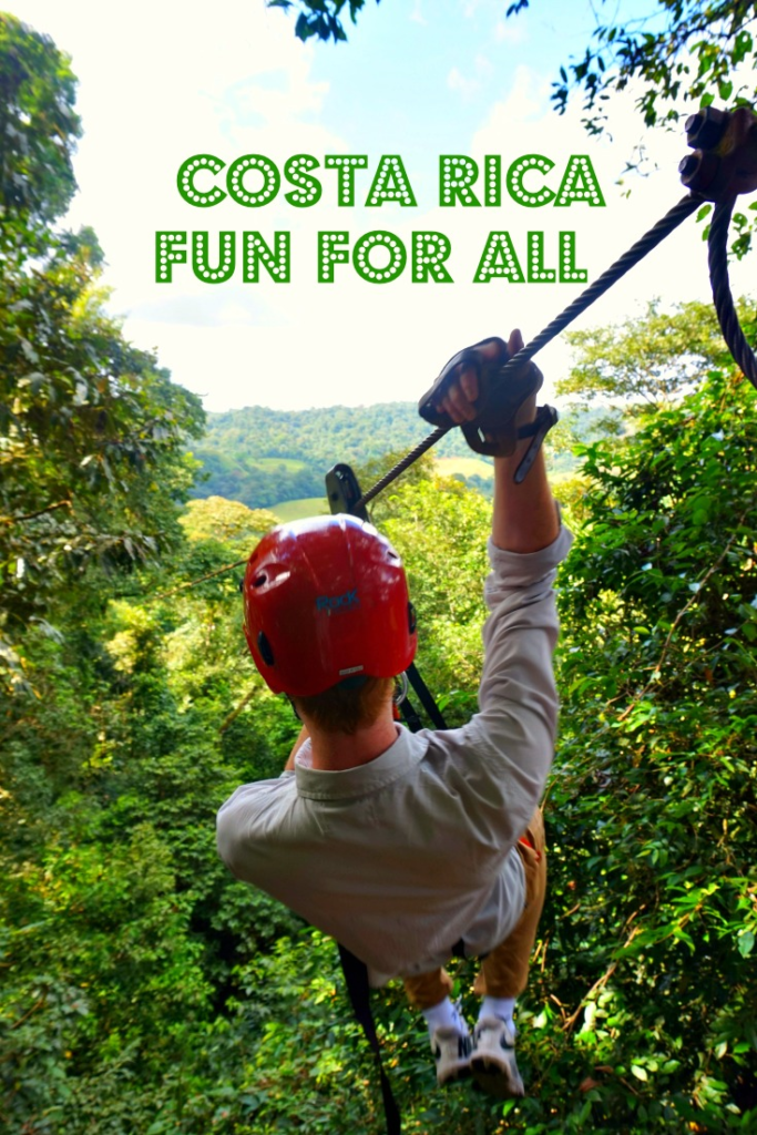 Adventures in La Fortuna Costa Rica - photo by Yvonne Jasinski Credit Card TravelingMom