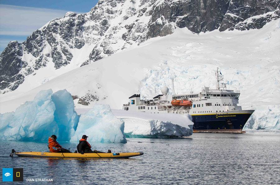 Kayaking in Antarctica made this an amazing trip of a lifetime