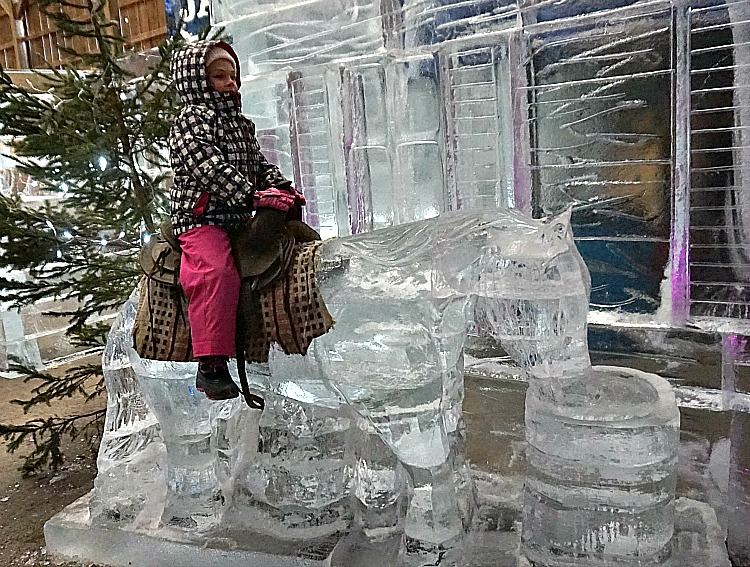 Ice Extravaganza: Crystal Cabin Fever in Lakeville, Pennsylvania