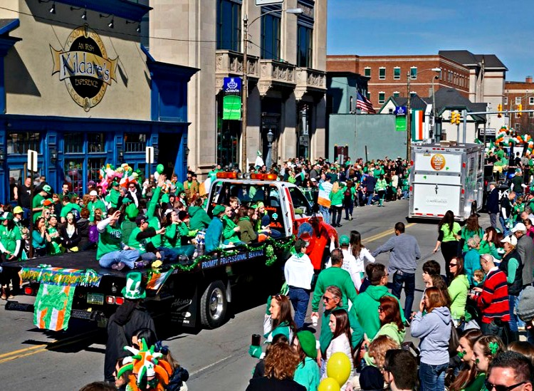 Saint Patrick's Parade in Scranton, Pennsylvania - Time to Celebrate!