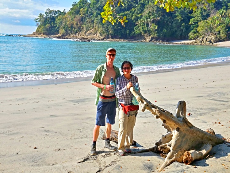 Mother and Son in Manuel Antonio National Park, Costa Rica