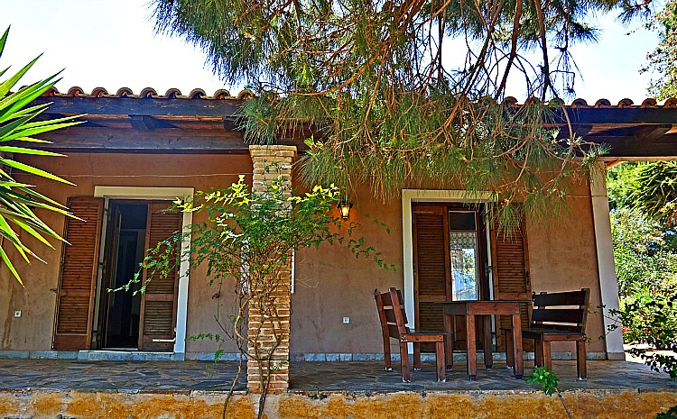Logothetis Organic Farm - our charming farm house, photo by Yvonne Jasinski Credit Card TravelingMom