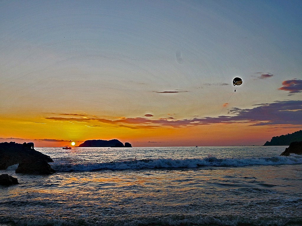 Sunset in Manuel Antonio, Costa Rica