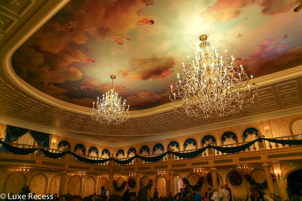 Be Our Guest is the newest restaurant in Magic Kingdom to offer breakfast. Photo credit: Robin Hutson of LuxeRecess.com